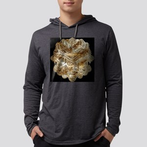 Mandelbulb fractal Mens Hooded Shirt
