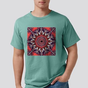 Mandelbrot fractal Mens Comfort Colors Shirt
