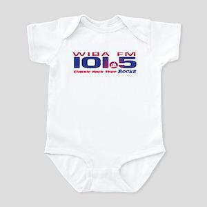 101.5 WIBA-FM (CLASSIC ROCK) Infant Bodysuit