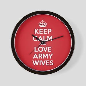 K C Love Army Wives Wall Clock