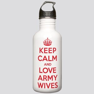 K C Love Army Wives Stainless Water Bottle 1.0L