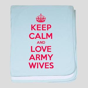 K C Love Army Wives baby blanket