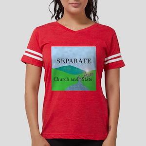 church and hate dark square. Womens Football Shirt