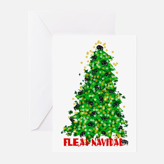 FLEAS NAVIDAD Greeting Cards (Pk of 10)