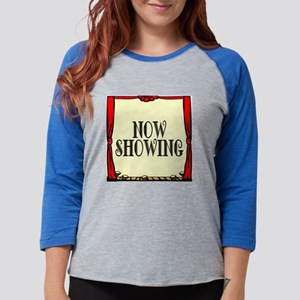 NOWSHOWING Womens Baseball Tee