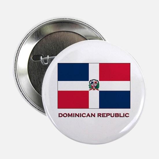 Viva The Dominican Republic Button
