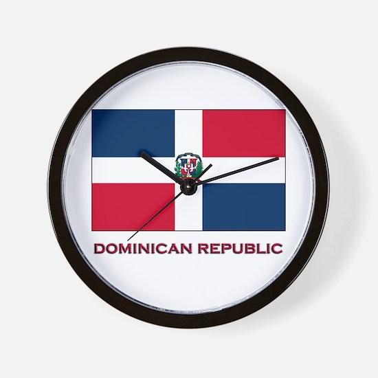 Viva The Dominican Republic Wall Clock