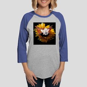 Fairy in Sunflower 10x10 Womens Baseball Tee