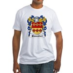 Blancafort Coat of Arms Fitted T-Shirt