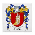 Bisbal Coat of Arms Tile Coaster