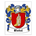 Bisbal Coat of Arms Small Poster