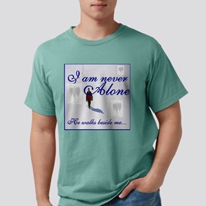 Never Alone4 Mens Comfort Colors Shirt
