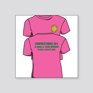 """Corrections101tees Square Sticker 3"""" x 3"""""""