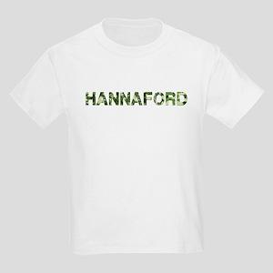 Hannaford, Vintage Camo, Kids Light T-Shirt
