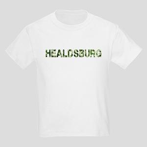 Healdsburg, Vintage Camo, Kids Light T-Shirt