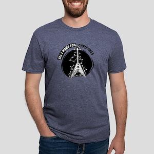 AIWFCSilverDarkTees Mens Tri-blend T-Shirt