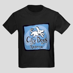 City Dogs Rescue Kids Dark T-Shirt