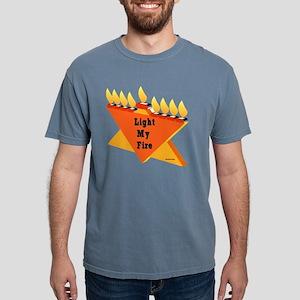 Liught My Fire JewTee fl Mens Comfort Colors Shirt