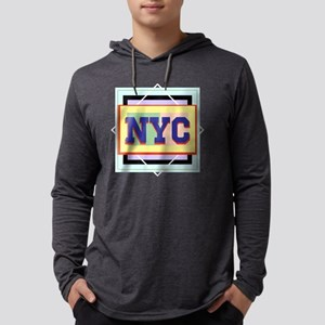 NYC Mens Hooded Shirt