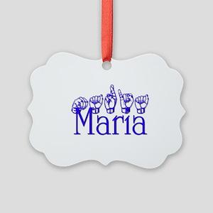Maria Picture Ornament