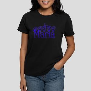 Maria Women's Dark T-Shirt