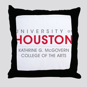 Houston Cougars College Of Arts Throw Pillow