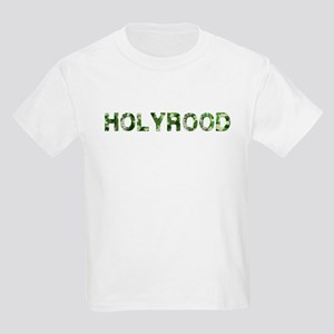 Holyrood, Vintage Camo, Kids Light T-Shirt