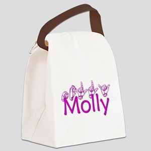 Molly Canvas Lunch Bag