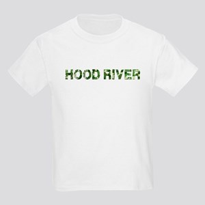 Hood River, Vintage Camo, Kids Light T-Shirt