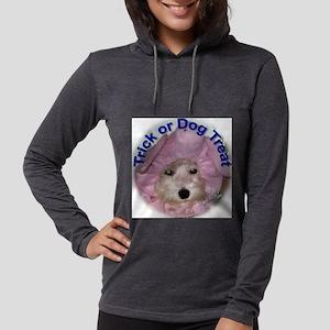 trickordogtreat Womens Hooded Shirt
