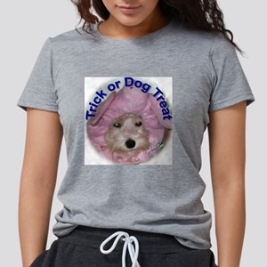 trickordogtreat Womens Tri-blend T-Shirt