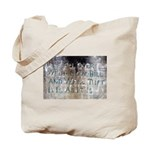 Sam Davis Inscription Tote Bag