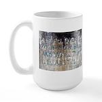 Sam Davis Inscription Large Mug