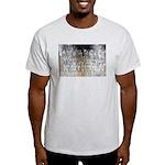 Sam Davis Inscription Ash Grey T-Shirt