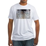 Sam Davis Inscription Fitted T-Shirt