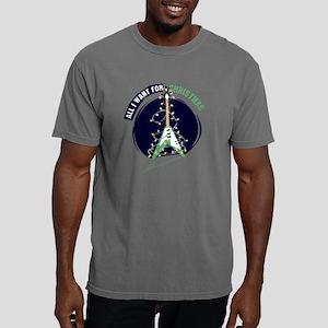 AIWFCGreenLongSleeveMen Mens Comfort Colors Shirt