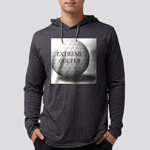 extreme golfer Mens Hooded Shirt