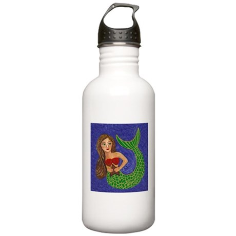Mermaid and Starfish Stainless Water Bottle 1.0L