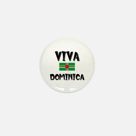 Viva Dominica Mini Button