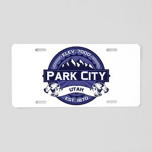 Park City Midnight Aluminum License Plate