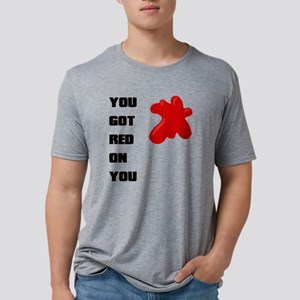 red onyou Mens Tri-blend T-Shirt