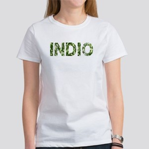Indio, Vintage Camo, Women's T-Shirt