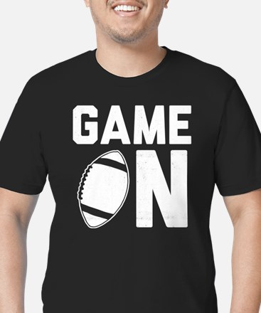 Game On Men's Fitted T-Shirt (dark)