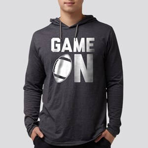 Game On Mens Hooded Shirt