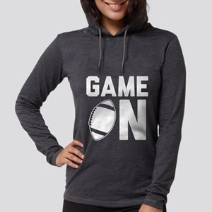 Game On Womens Hooded Shirt