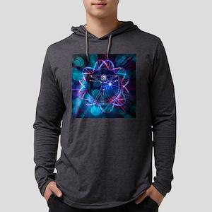 Human genome, conceptual artwork Mens Hooded Shirt