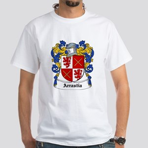 Arrastia Coat of Arms White T-Shirt