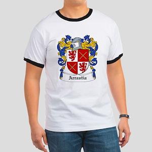 Arrastia Coat of Arms Ringer T