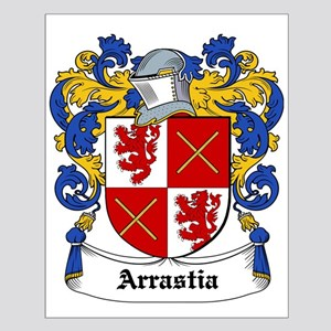 Arrastia Coat of Arms Small Poster