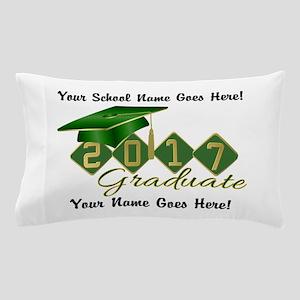 Graduate Green 2017 Pillow Case